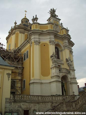 St. Georg Cathedral - sights of Lviv